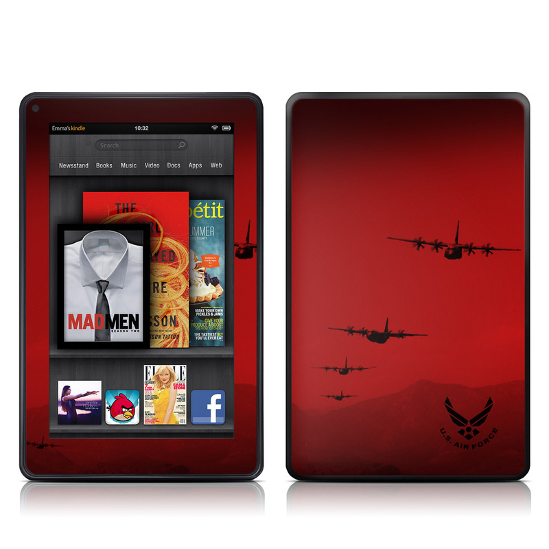 Air Traffic Amazon Kindle Fire Skin