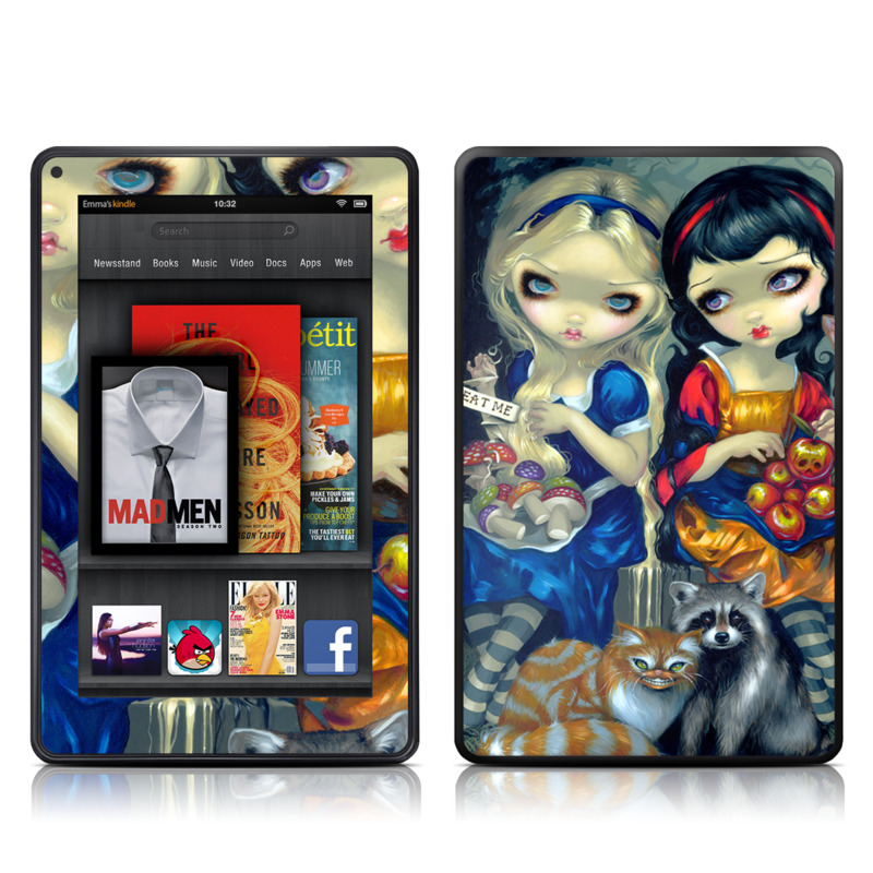 Alice & Snow White Amazon Kindle Fire Skin