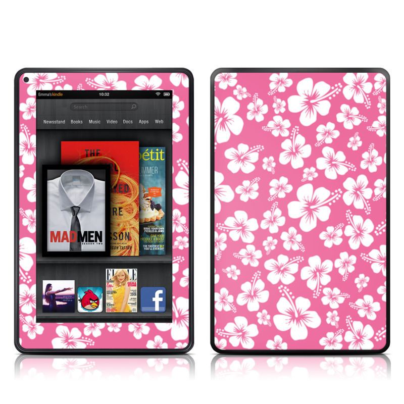 Aloha Pink Amazon Kindle Fire Skin