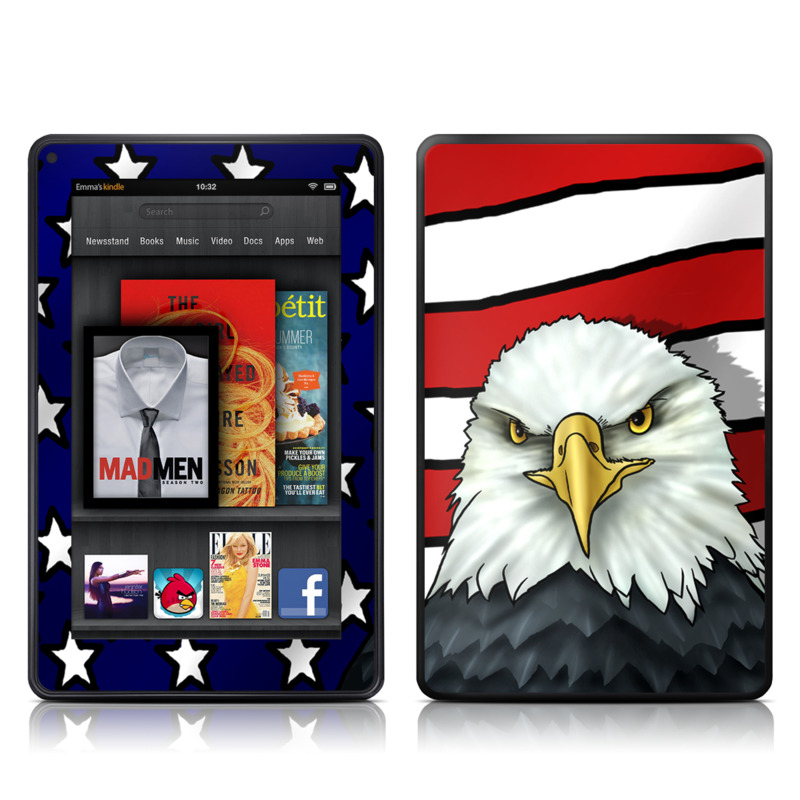 American Eagle Amazon Kindle Fire Skin