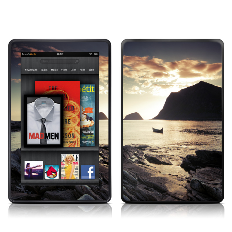 Anchored Amazon Kindle Fire Skin