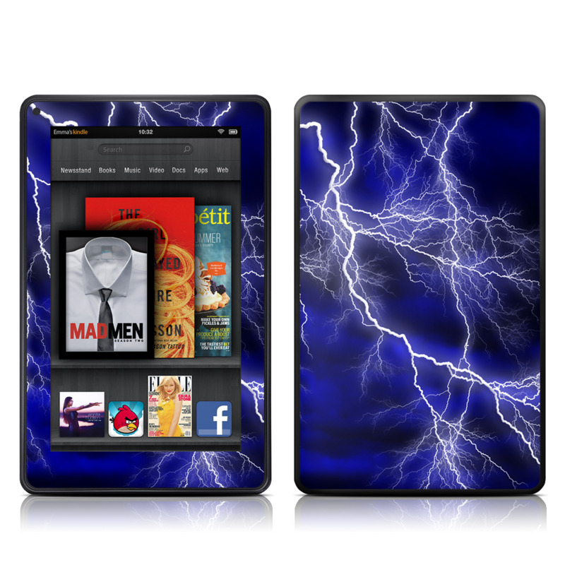 Apocalypse Blue Amazon Kindle Fire Skin