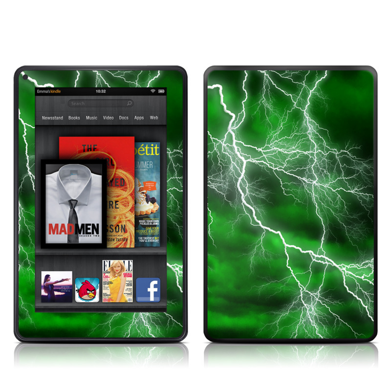 Apocalypse Green Amazon Kindle Fire Skin