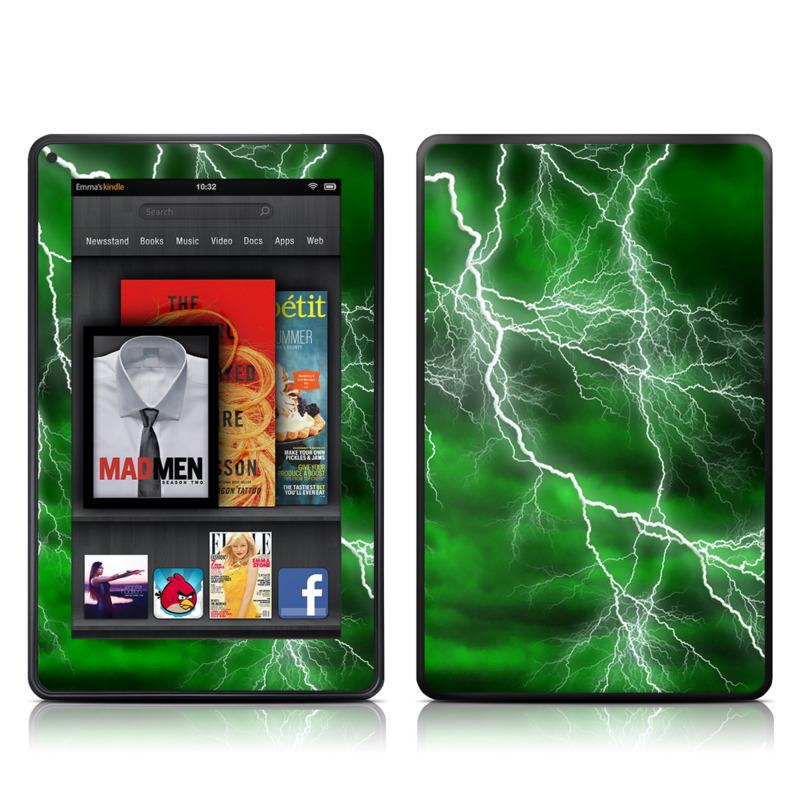 Apocalypse Green Amazon Kindle Fire Skin