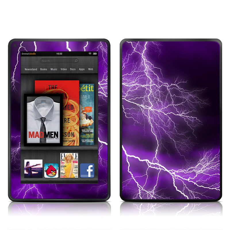 Apocalypse Violet Amazon Kindle Fire Skin