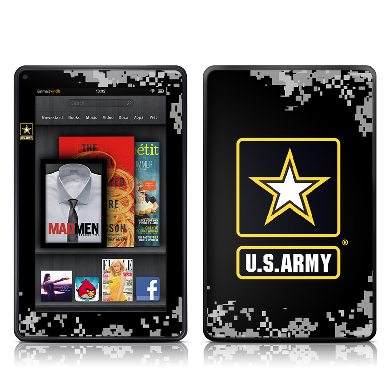 Army Pride Amazon Kindle Fire Skin