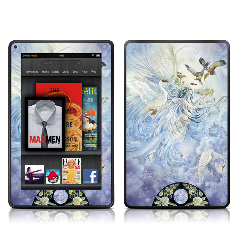 Aquarius Amazon Kindle Fire Skin