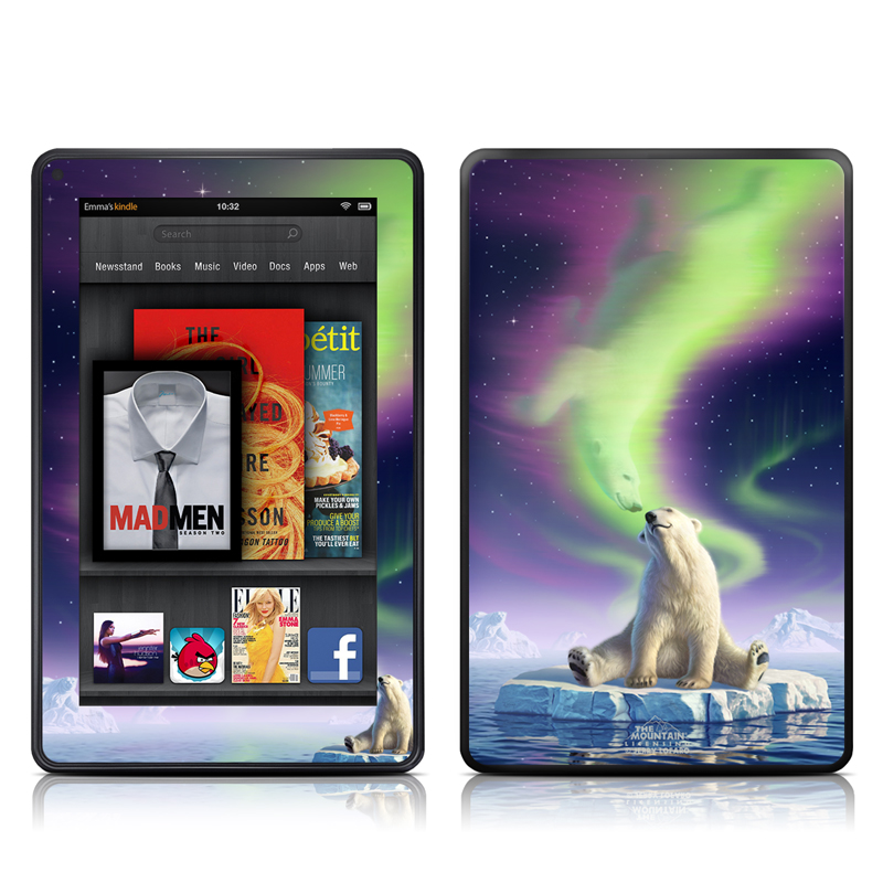 Arctic Kiss Amazon Kindle Fire Skin