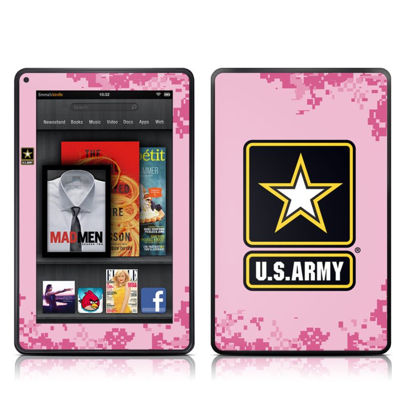 Army Pink Amazon Kindle Fire Skin