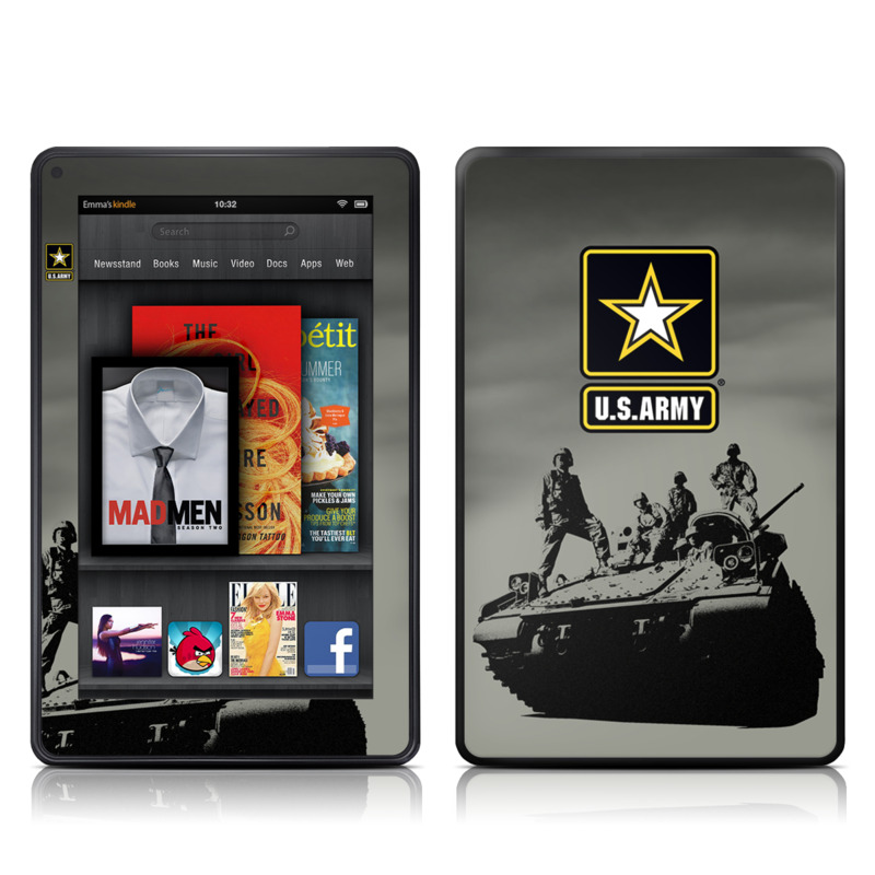 Army Troop Amazon Kindle Fire Skin