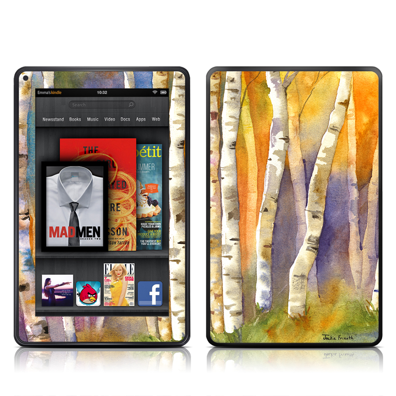 Aspens Amazon Kindle Fire Skin