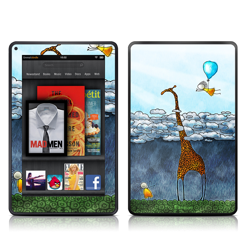 Above The Clouds Amazon Kindle Fire Skin