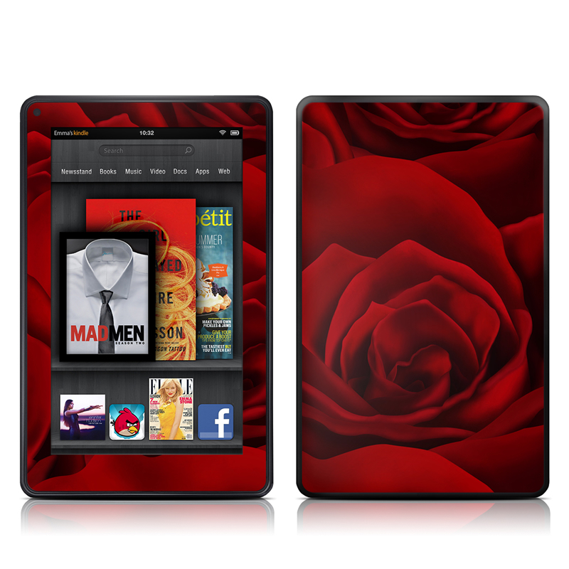 By Any Other Name Amazon Kindle Fire Skin