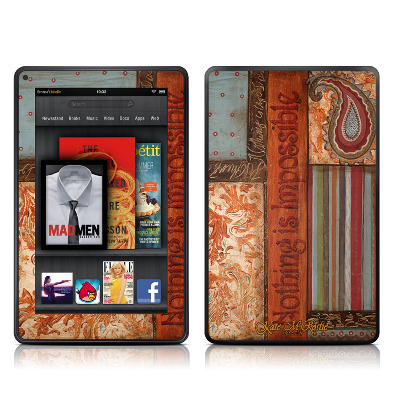 Be Inspired Amazon Kindle Fire Skin