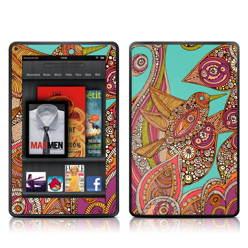 Bird In Paradise Amazon Kindle Fire Skin