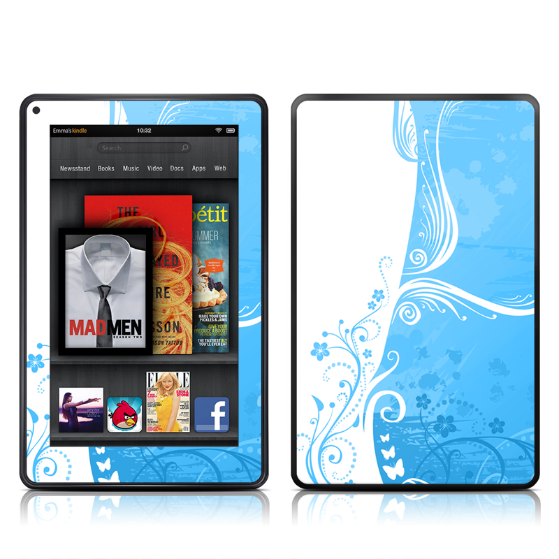 Blue Crush Amazon Kindle Fire Skin