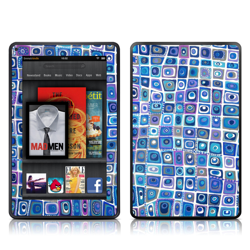 Blue Monday Amazon Kindle Fire Skin