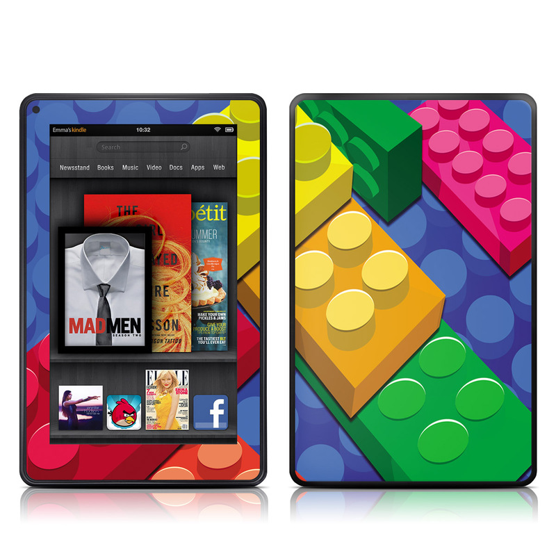 Bricks Amazon Kindle Fire Skin