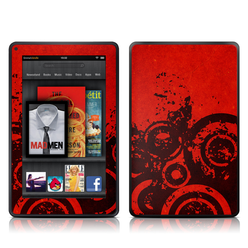 Bullseye Amazon Kindle Fire Skin