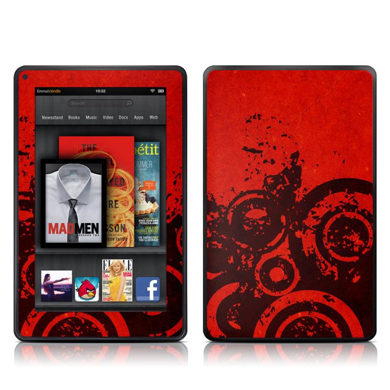 Bullseye Amazon Kindle Fire Skin