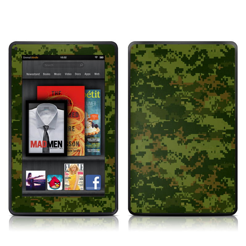 CAD Camo Amazon Kindle Fire Skin