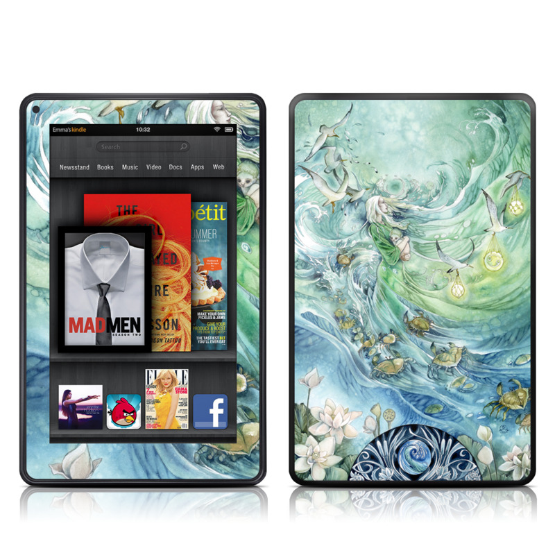 Cancer Amazon Kindle Fire Skin
