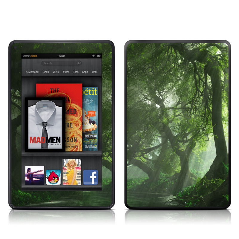 Canopy Creek Spring Amazon Kindle Fire Skin