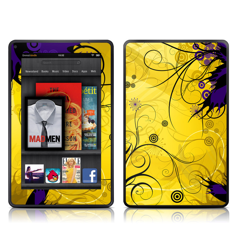 Chaotic Land Amazon Kindle Fire Skin