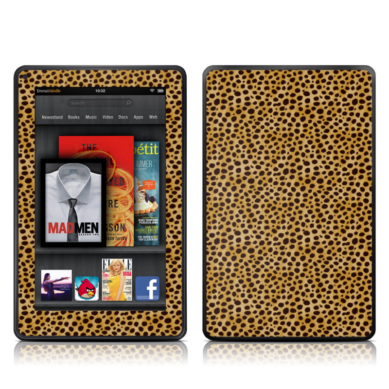Cheetah Amazon Kindle Fire Skin