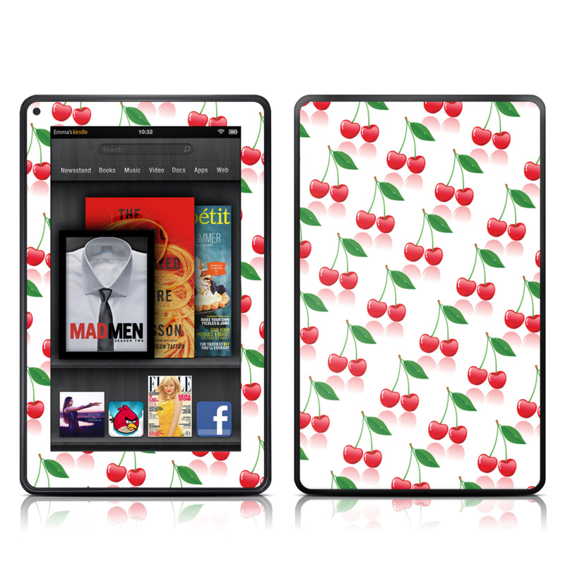 Cherry Amazon Kindle Fire Skin