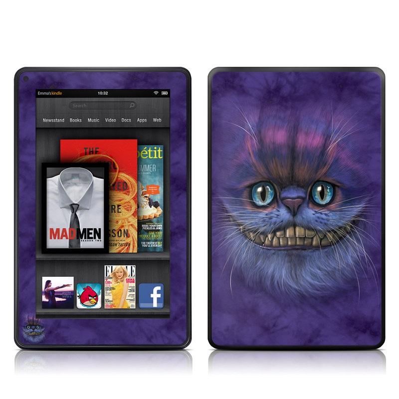 Cheshire Grin Amazon Kindle Fire Skin