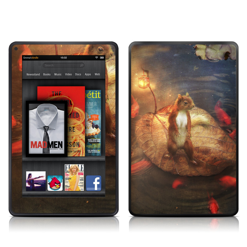 Columbus Amazon Kindle Fire Skin