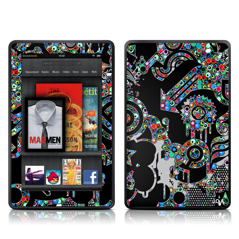 Circle Madness Amazon Kindle Fire Skin