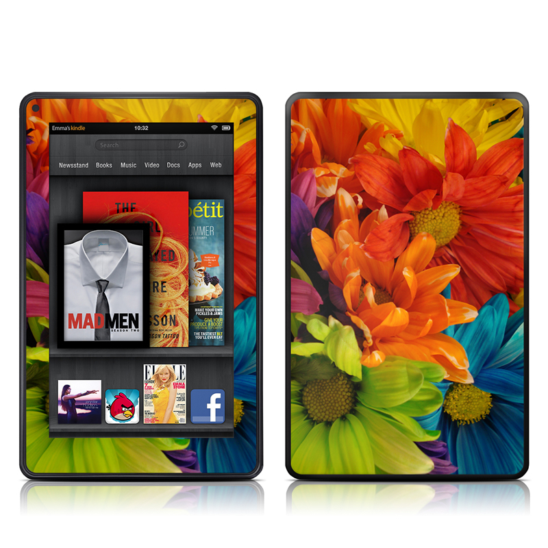 Colours Amazon Kindle Fire Skin