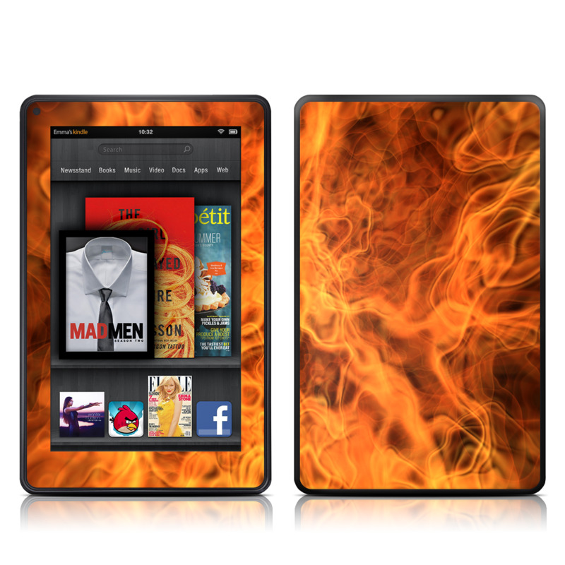 Combustion Amazon Kindle Fire Skin