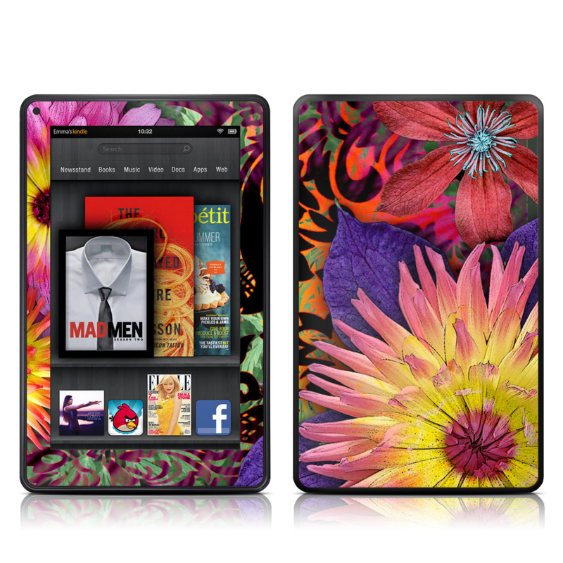 Cosmic Damask Amazon Kindle Fire Skin