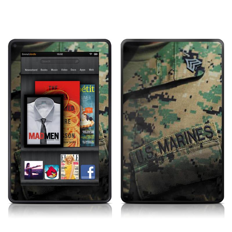 Courage Amazon Kindle Fire Skin