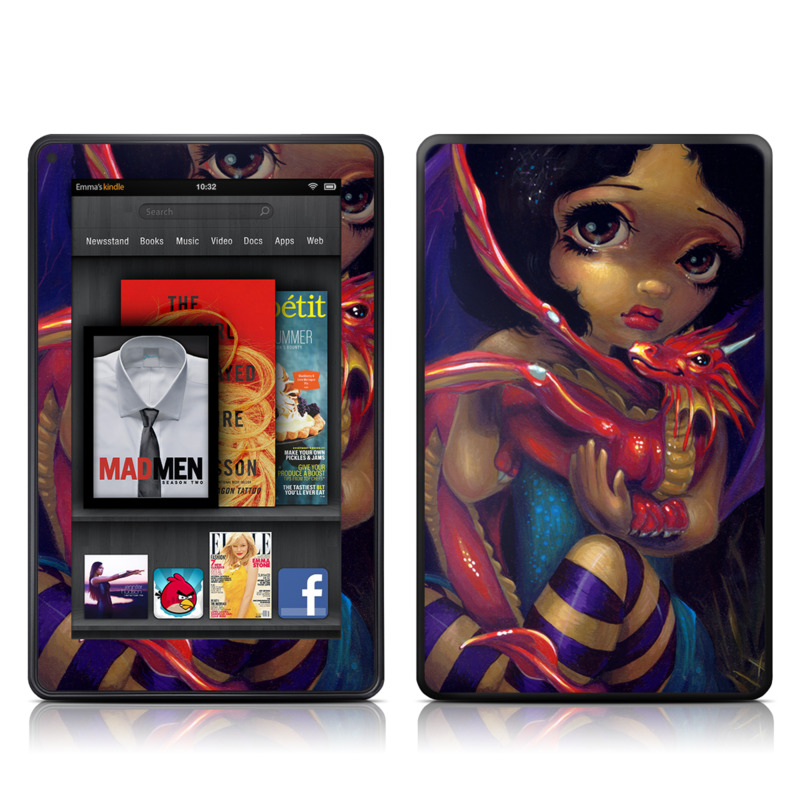 Darling Dragonling Amazon Kindle Fire Skin