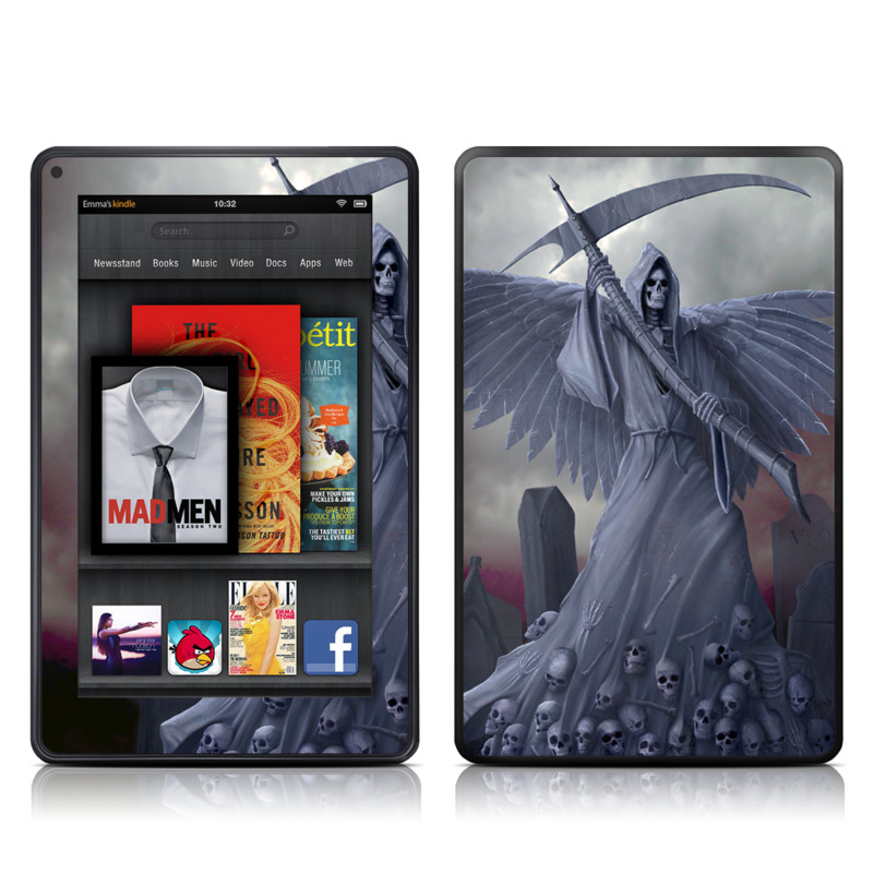 Death on Hold Amazon Kindle Fire Skin