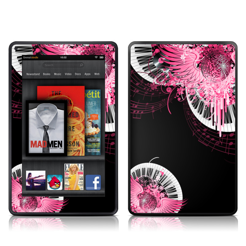 Disco Fly Amazon Kindle Fire Skin
