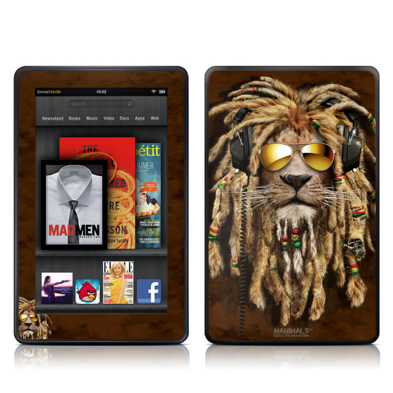 DJ Jahman Amazon Kindle Fire Skin