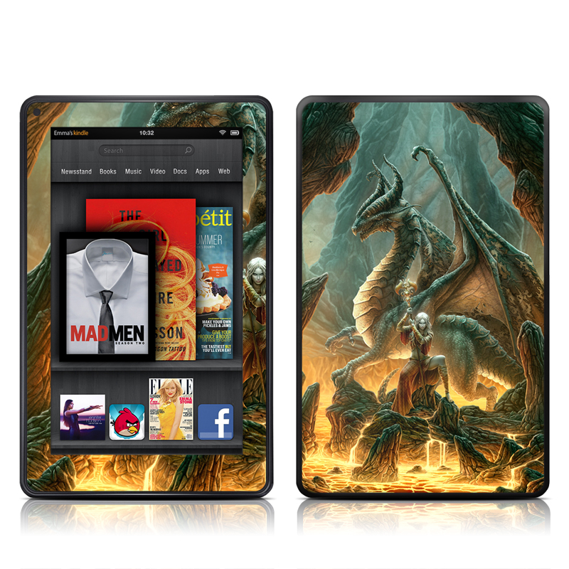 Dragon Mage Amazon Kindle Fire Skin