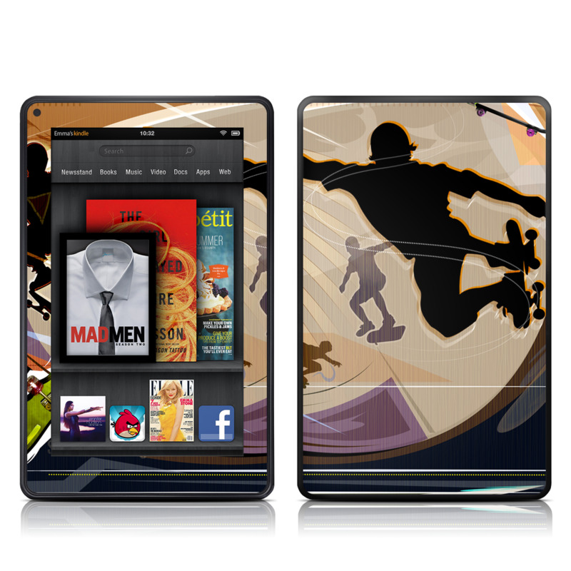Dogtown Amazon Kindle Fire Skin