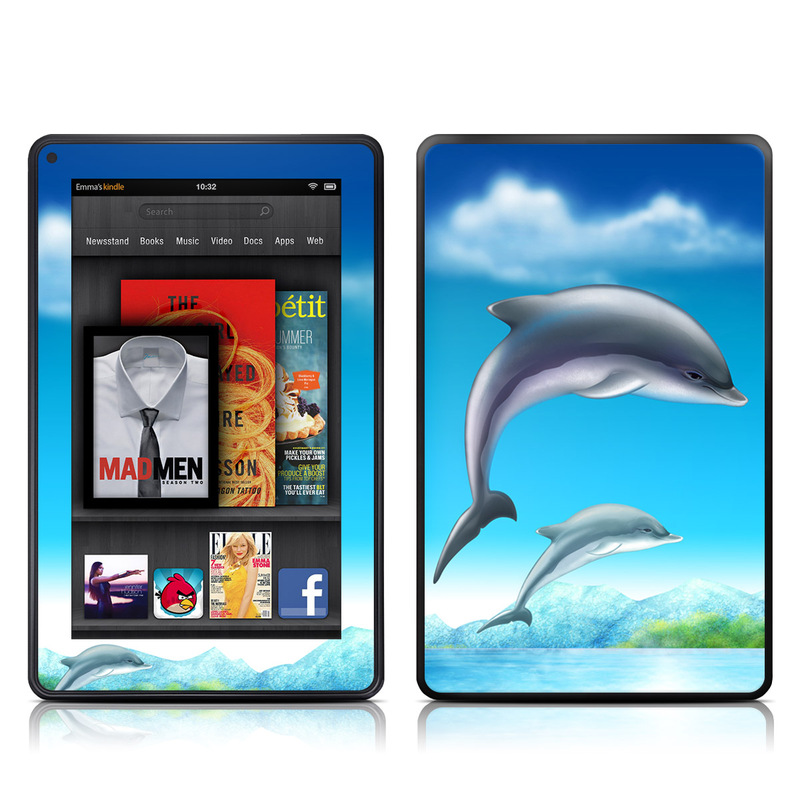 Dolphins Amazon Kindle Fire Skin