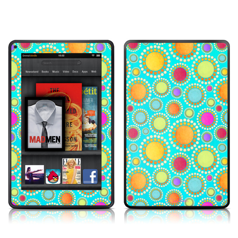 Dot To Dot Amazon Kindle Fire Skin