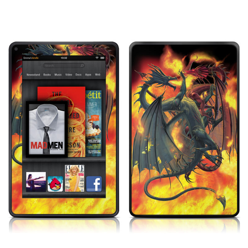Dragon Wars Amazon Kindle Fire Skin