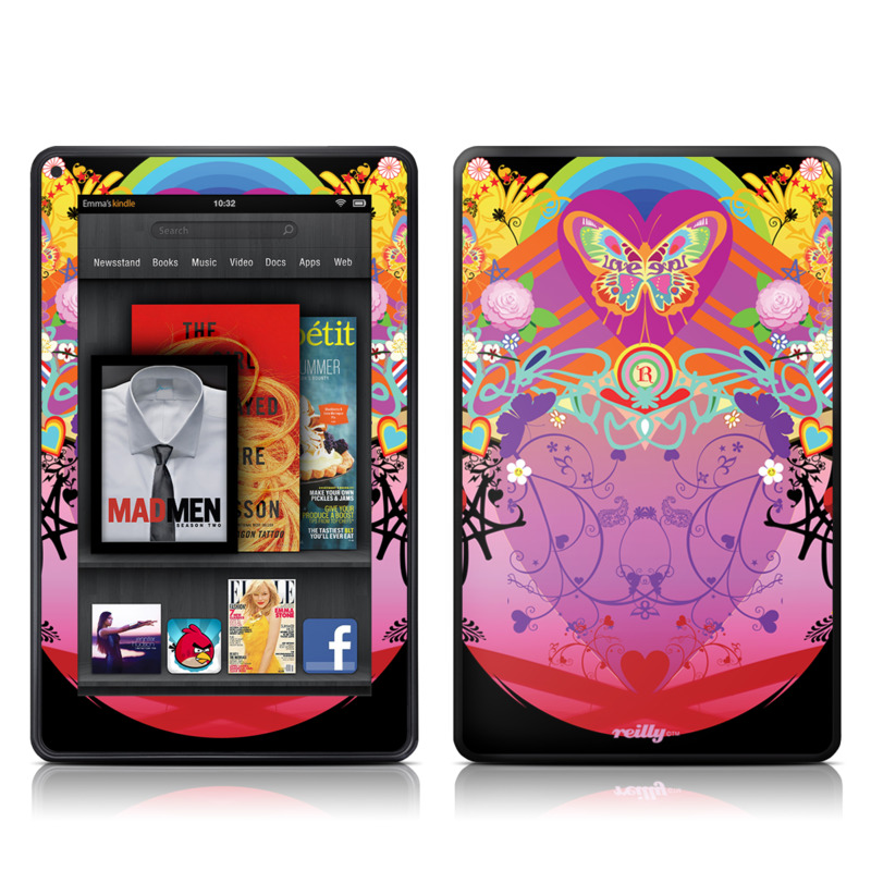 Ecstacy Amazon Kindle Fire Skin