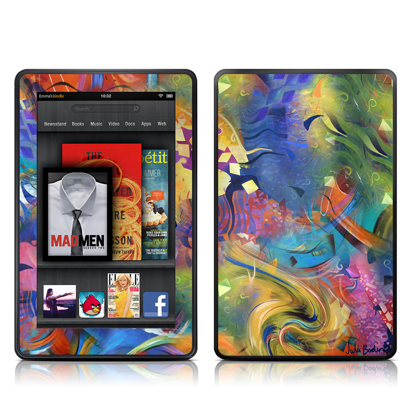 Fascination Amazon Kindle Fire Skin