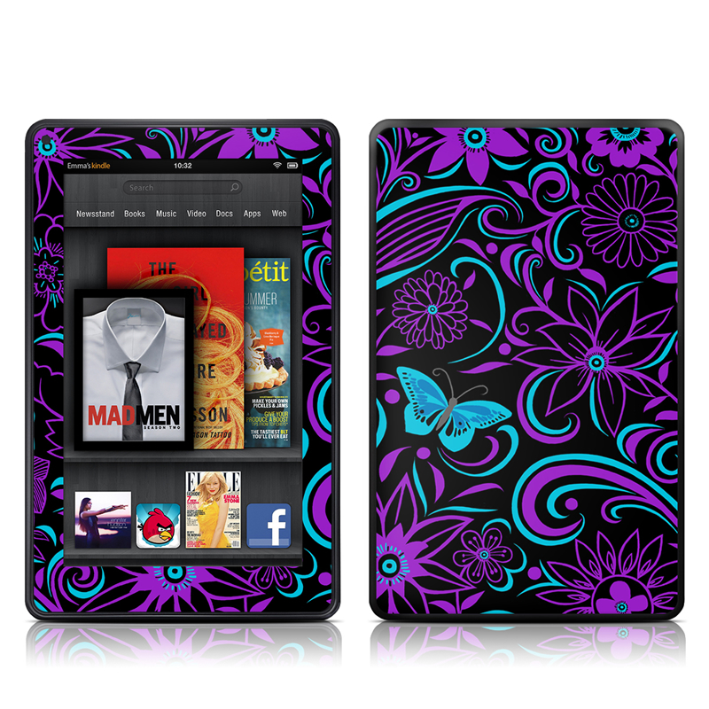 Fascinating Surprise Amazon Kindle Fire Skin
