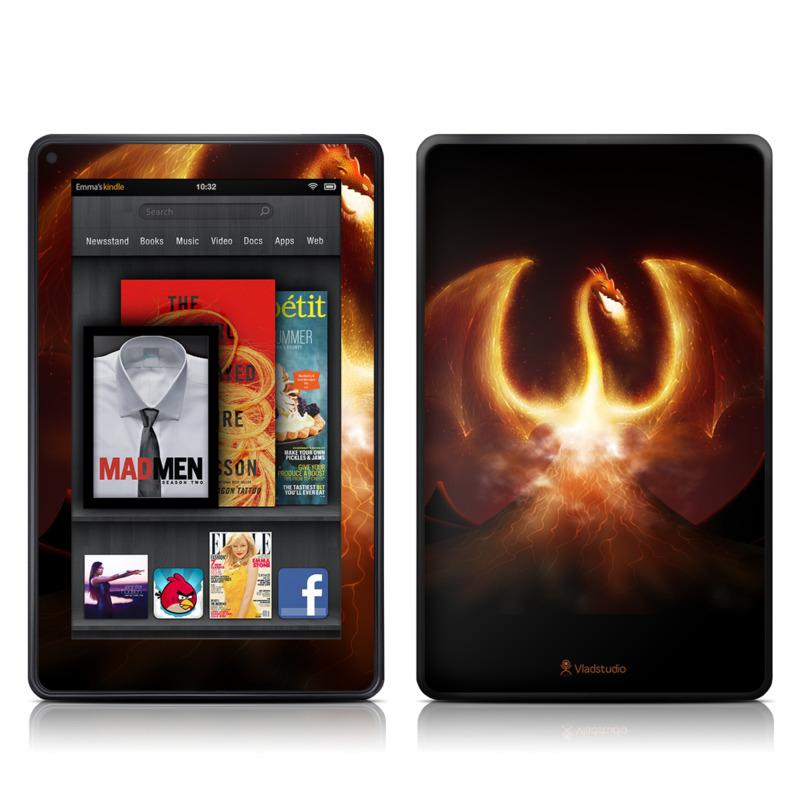 Fire Dragon Amazon Kindle Fire Skin
